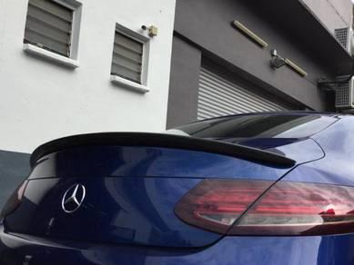 Mercedes benz W205 coupe carbon fiber spoiler