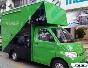 Food truck mobile cafe gran max with new box 2014