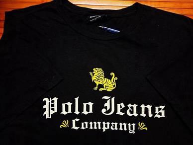 Vintage POLO JEANS COMPANY SzL Crew Neck T-Shirts
