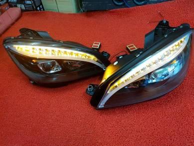 Menz w204 led headlamp head lamp light lights led