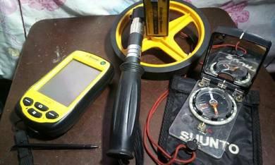 Alat Surveyor kompas dan Gps
