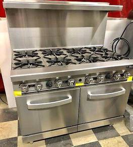 Robert Shaw stainless gas cooker