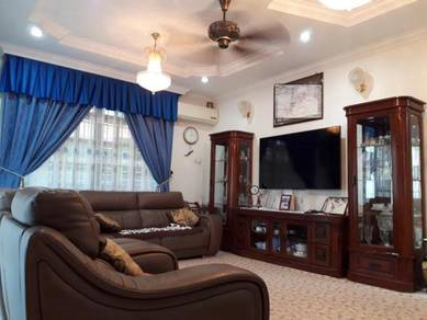 FULLY FURNISHED GOOD CONDITION Double Storey BUNGALOW at Taman Cemara