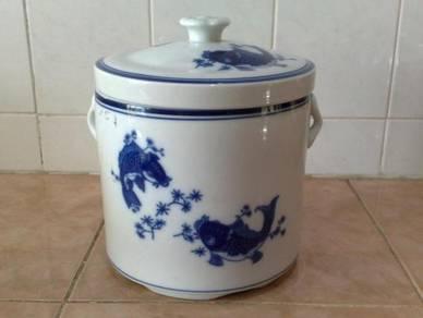 Mangkuk sup oriental ceramic soup pot