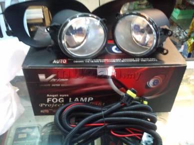 Toyota vios oem fog lamp fog light spot light 07