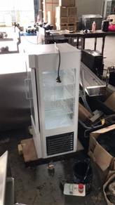 Mini glass display chiller for sale