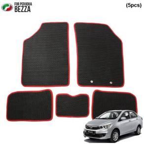 PERODUA BEZZA Custom Made Car Floor Carpet Mat 5pc