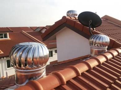 Kipas bumbung berkesan sejuk rumah