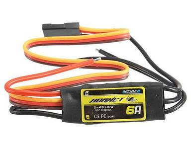 HTIRC Hornet 2-4S 6A Brushless ESC With 5V/0.5A