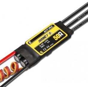 HTIRC Hornet 2-4S 50A Brushless ESC With 5V/3A SBE