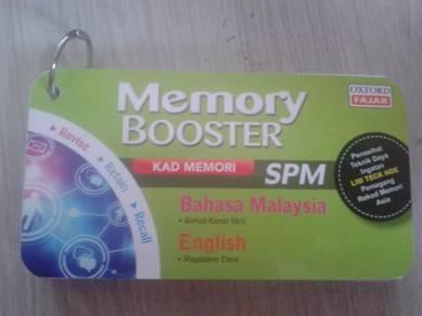 Memory booster spm bahasa malaysia & english