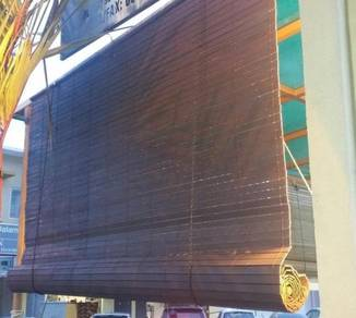 Bidai Kayu (Wooden Blinds) 4' x 6'