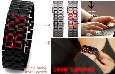 Jam Iron Samurai Digital