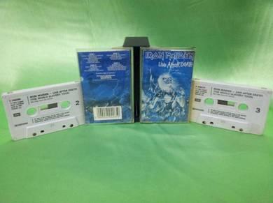 Iron Maiden LIVE AFTER DEATH 1985 cassette EMI UK