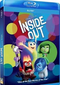 Blu-ray English Movie : Inside Out (Blu-ray)