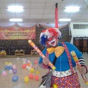 Clown service , pekhidmatan Badut murah Di malaysi
