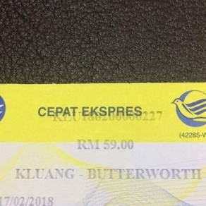 Tiket Bas Express Kluang�Butterworth