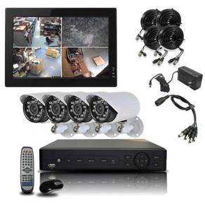 Ss cctv surveillance full hd package-K3