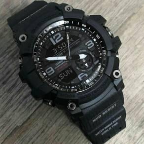Digital analog gg1000 watch