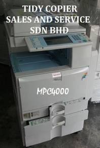 Ricoh copier machine color mpc4000
