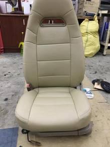 Gen 2 semi leather seat cover