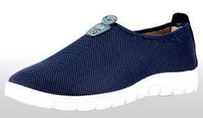 SA0266 Slip On Blue Breathable Kasut Casual Shoes