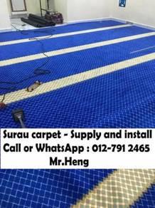 Masjid / Surau Carpet Sekali Siap Pasang 61QR