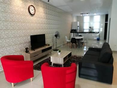 Bangi Avenue 3, Bangi – Terrace House for Rent Fully Furnished