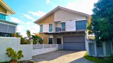 2 & half storey bungalow villa safira saujana impian kajang for sale