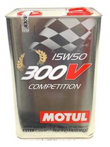 MOTUL 300V Competition 15W50 - 5 Litre Engine Oil