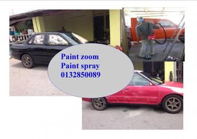 Paint zoom paint spray cat