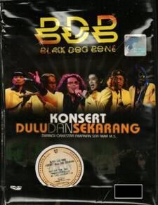 DVD BDB Black Dog Bone Konsert Dulu Dan Sekarang