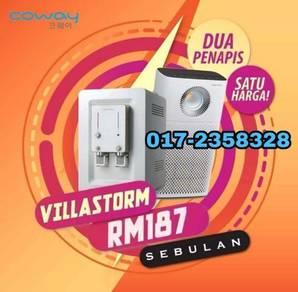 Penapis air dan udara VillaStorm KT0116