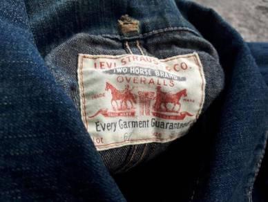Vtg levis workwear chore jacket