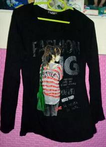 Blouse hitam candy