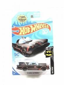 Hotwheels 2018 Batman TV Series Batmobile #5 Black