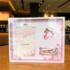 Starbucks 2018 Pink Sakura Lanyard