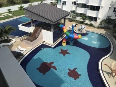 Homelite Resort 3rd Floor, Miri (facing pool & 2 parkings)