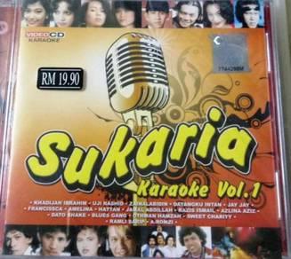 Sukaria Karaoke Vol.1 VCD Khadijah Ibrahim Uji Ras