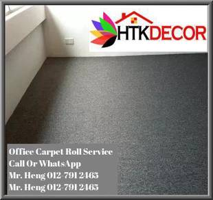 Natural Office Carpet Roll with install GY51