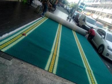 Vinyl flooring dan Carpet,Promosi siap pasang sere