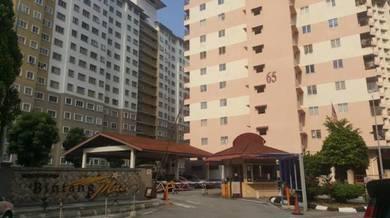 Sewa bilik di bintang mas condominium, cheras near lrt salak selatan
