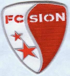 FC Sion Swiss Switzerland Football Club Patch