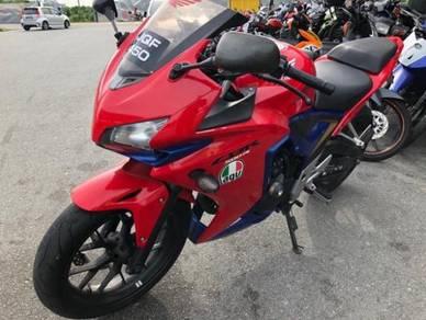 Honda CBR 500 R on the road Price loan kedai