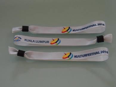 Fabric Wristbands/ Woven Wristbands Malaysia