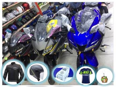 Yamaha R15 R15 NEW COLOR - Free Jacket