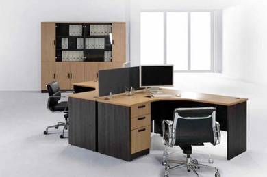 England oak series universal workstation package