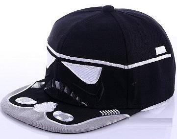 C040 Star Wars Flat-Brimmed Snapback Hip-Hop Cap