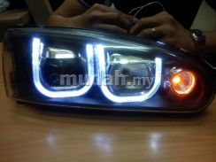 Wira satria projector headlamp head lamp light