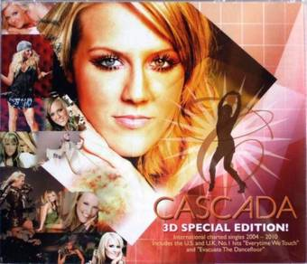 CD CASCADA 3D Special Edition 3CD